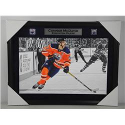 Connor McDavid - Canvas Art Gallery Frame. 23x30""