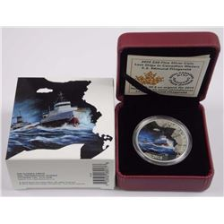 RCM-Lost Ships in Canadian Waters- .9999 Fine Silv