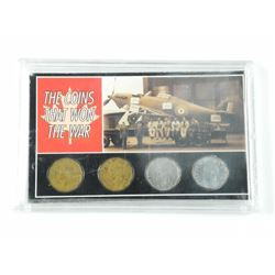 Coins that Won the War Collection - 1942 and 1943