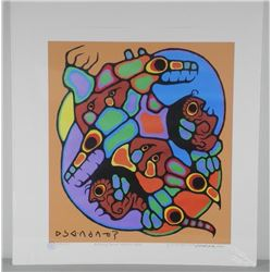 Norval Morrisseau (1931-2007) Giclee 'Brothers of