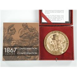 1867 Confederation Bronze Medal, 2017 Issue.