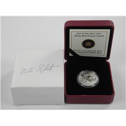 2013 $3 Cottage Life - Pure Silver Coin