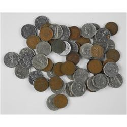 Mixed Dates Nickels & Pennies.