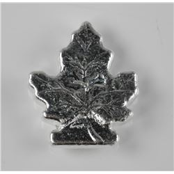 .999 Fine Silver 2oz Maple Leaf - Hand Poured in C