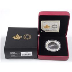 2014 - RCM 50 Cent Silver Plated Coin 'Empress of