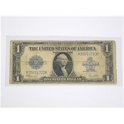 USA 1923 - One Dollar Note. Silver Certificate Blu