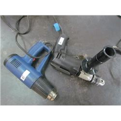 Porter Cable Drill and heat gun