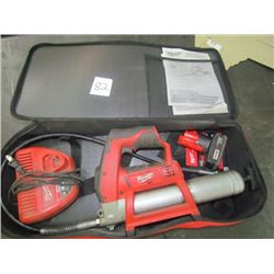 Millwakee battery operated grease gun M12 Lithium