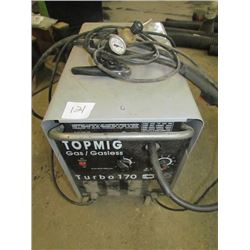 Portable propane welding unit