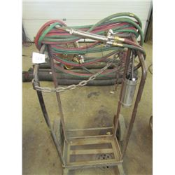 Welding Cart with hoses