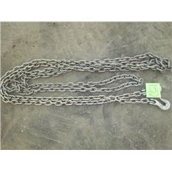 26' Chain with hooks
