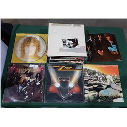 COLLECTION OF ROCK RECORDS