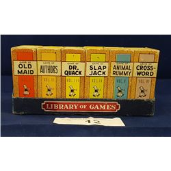 VINTAGE TRAVEL GAMES SET