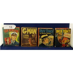 1930'S/1940'S DICK TRACY LITTLE BIG BOOKS