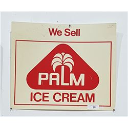 ORIGINAL PALM ICE CREAM SIGN