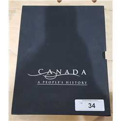 CANADA A PEOPLE'S HISTORY VOLUME 1&2 IN ORIGINAL HARDCASE