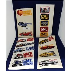 SEVENTEEN VINTAGE CAR SEW ON PATCHES
