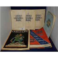 SIX 1930'S CANADIAN MAGAZINES