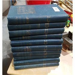 COMPLETE SET ANTIQUE COOPERS WORKS BY JAMES FENIMORE COOPER