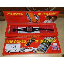 TWO NEW IN PACKAGE DUKES OF HAZARD WATCHES