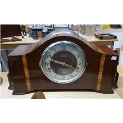 VINTAGE ART DECO FORESTVILLE MANTLE CLOCK