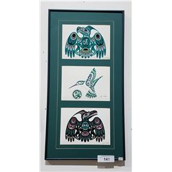 FRAMED  NATIVE PRINT