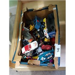 BOX MISC DIE CAST TOYS