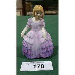 SMALL ROYAL DOULTON ROSE FIGURINE