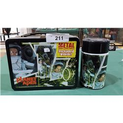 PLANET OF THE APES METAL LUNCH BOX W/THERMOS
