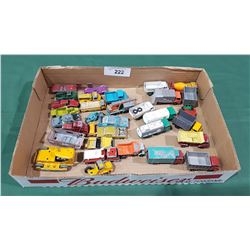 COLLECTION OF VINTAGE DIE CAST VEHICLES
