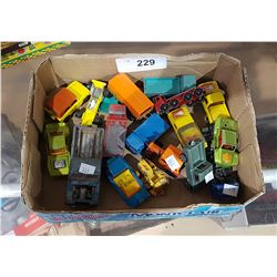 LOT OF VINTAGE COLLECTIBLE DIE CAST VEHICLES