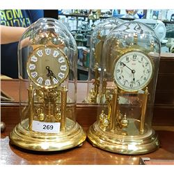 2 ANNIVERSARY CLOCKS