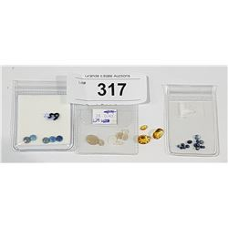 COLLECTION OF LOOSE GEMSTONES