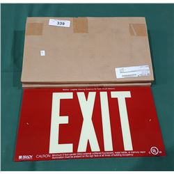 2 NEW IN BOX EXIT SIGNS