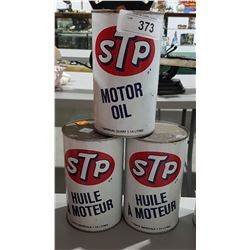 3 STP OIL QUARTS-FULL
