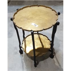 ASIAN 2 TIER PARLOUR TABLE