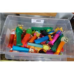COLLECTION OF 30 PEZ DISPENSERS