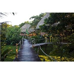 7 night/6 at the Cotton Tree Lodge in Belize