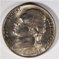 1939-D JEFFERSON NICKEL, CH BU KEY DATE