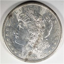 1881-S MORGAN DOLLAR CHOICE BU