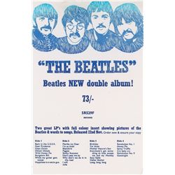 Beatles EMI/Apple 'White Album' Flyer