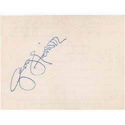 George Harrison 1975 Signature
