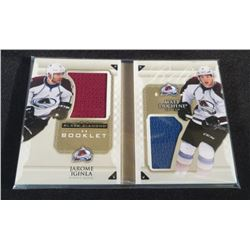 2015-16 Black Diamond Double Diamond Jsy Booklet