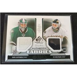 14-15 SP Game Used Fabrics Dual Ed Belfour