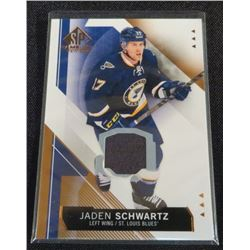 15-16 SP Game Used Copper Jerseys Jaden Schwartz