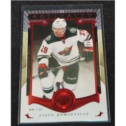 2015-16 Artifacts Ruby #13 Jason Pominville