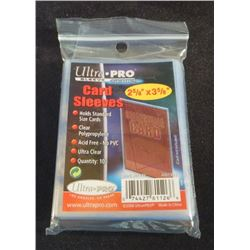 Ultra Pro Card Sleeves Pack Of 100