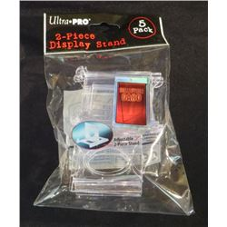 Ultra Pro 2 Piece Display Stand 5 Pack