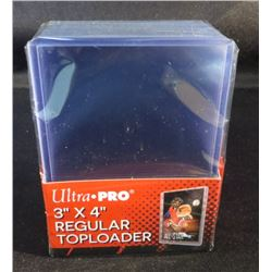 "Ultra Pro 3""x4"" Regular Top Loaders 25 Pack"
