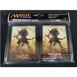 New Magic The Gathering Ajani 80 Pack Deck Sleeves